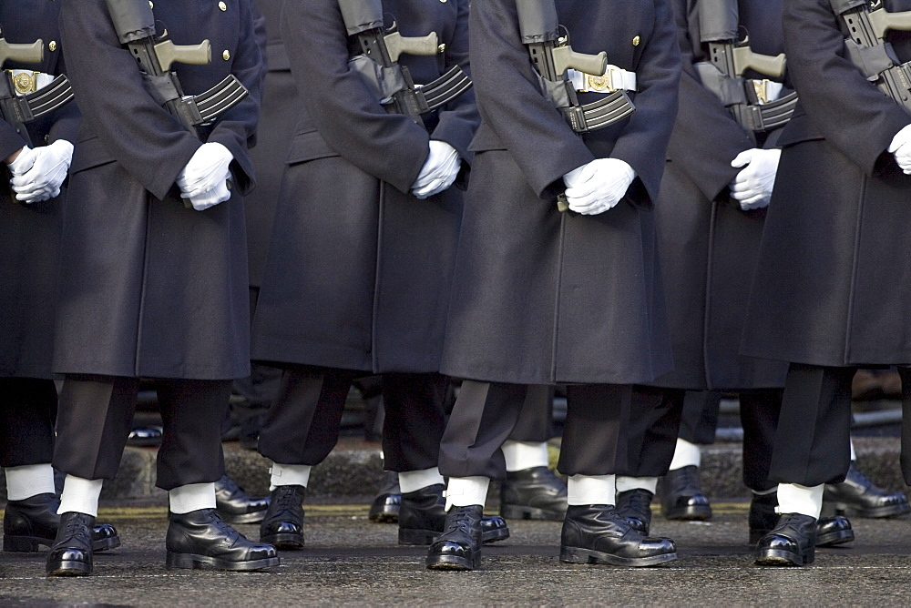 Guards at the Cenotaph, London, England, United Kingdom