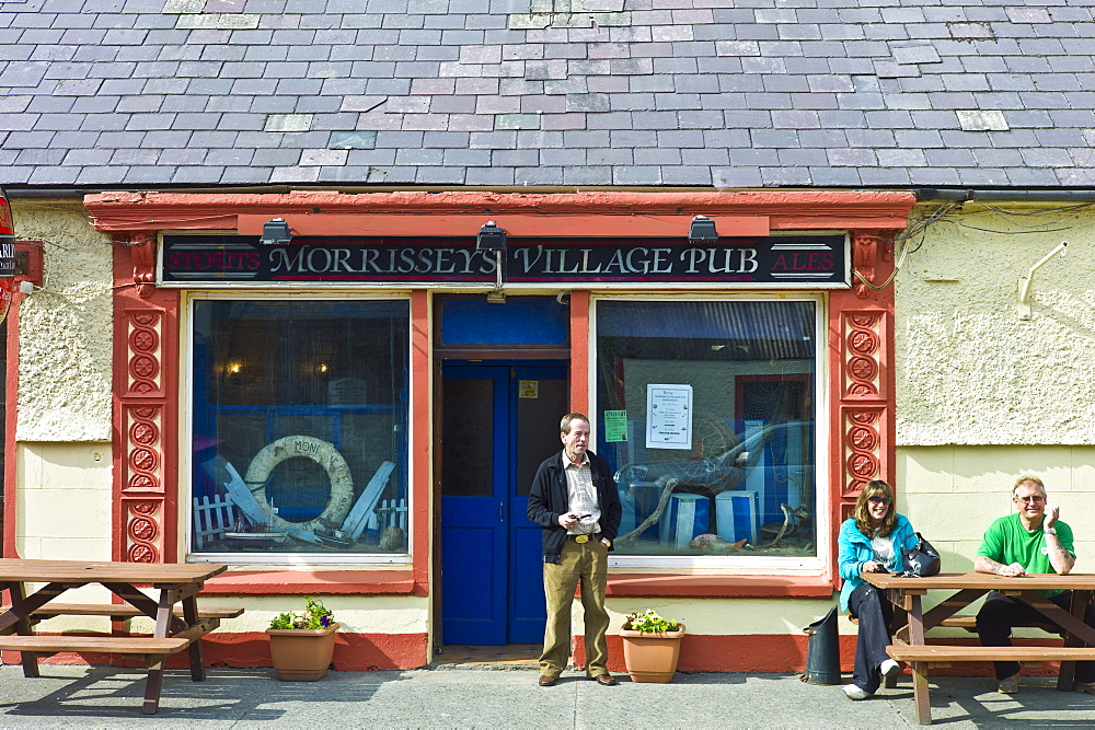 Morrissey's Village Pub traditional bar in Carrigaholt, County Clare, West of Ireland