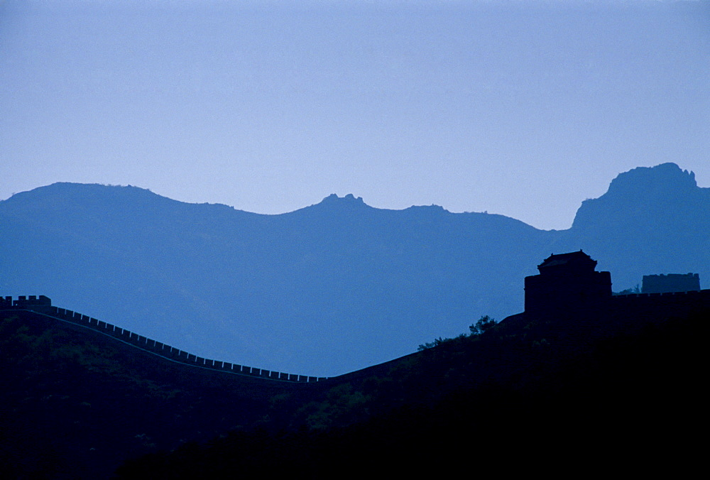 Great Wall of China, at Badaling, Beijing, China