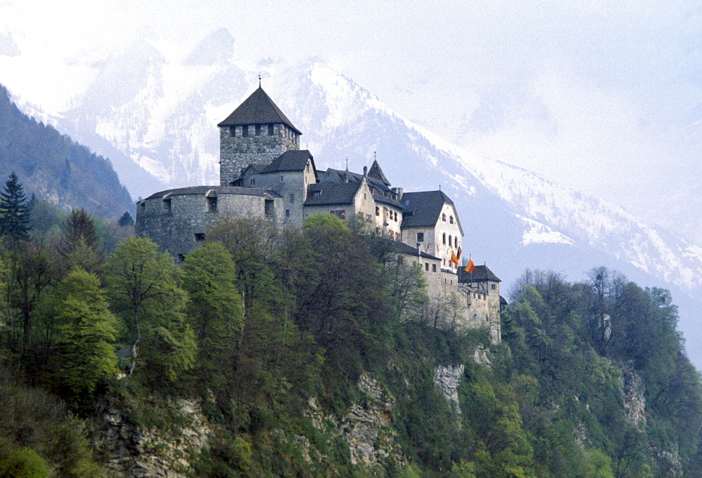 Vaduz Castle in Liechtenstein