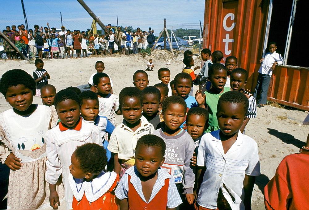 Children in the Alexandra Township, Johannesburg, South Africa