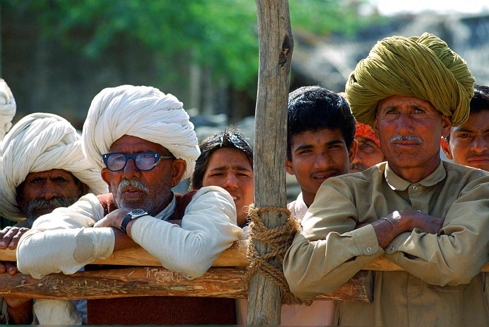 Villagers in Nalu Village, Rajasthan, India