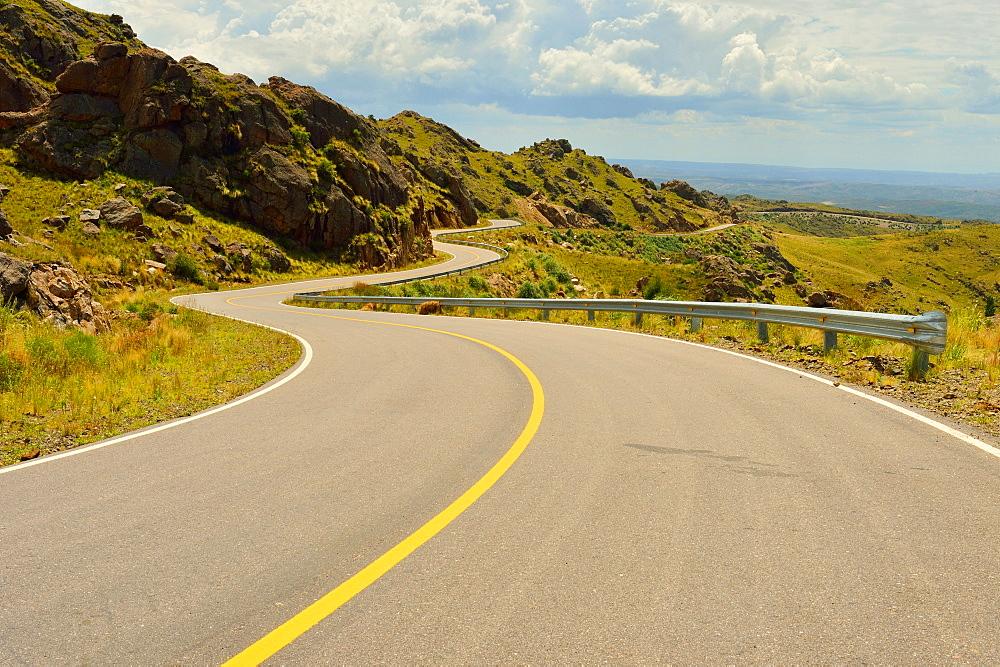 Mountain road, San Luis, Argentina, South America