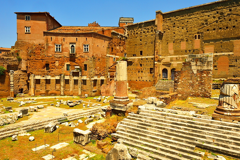 Forum of Augustus, Rome, Lazio, Italy, Europe