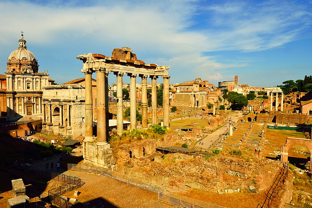 Roman Forum, UNESCO World Heritage Site, Rome, Lazio, Italy, Europe