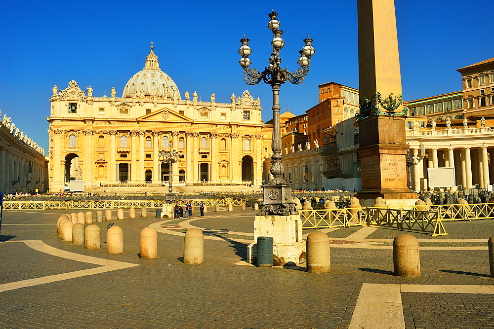 San Pietro Church (St. Peter's Basilica), Vatican City, Rome, Lazio, taly, Europe