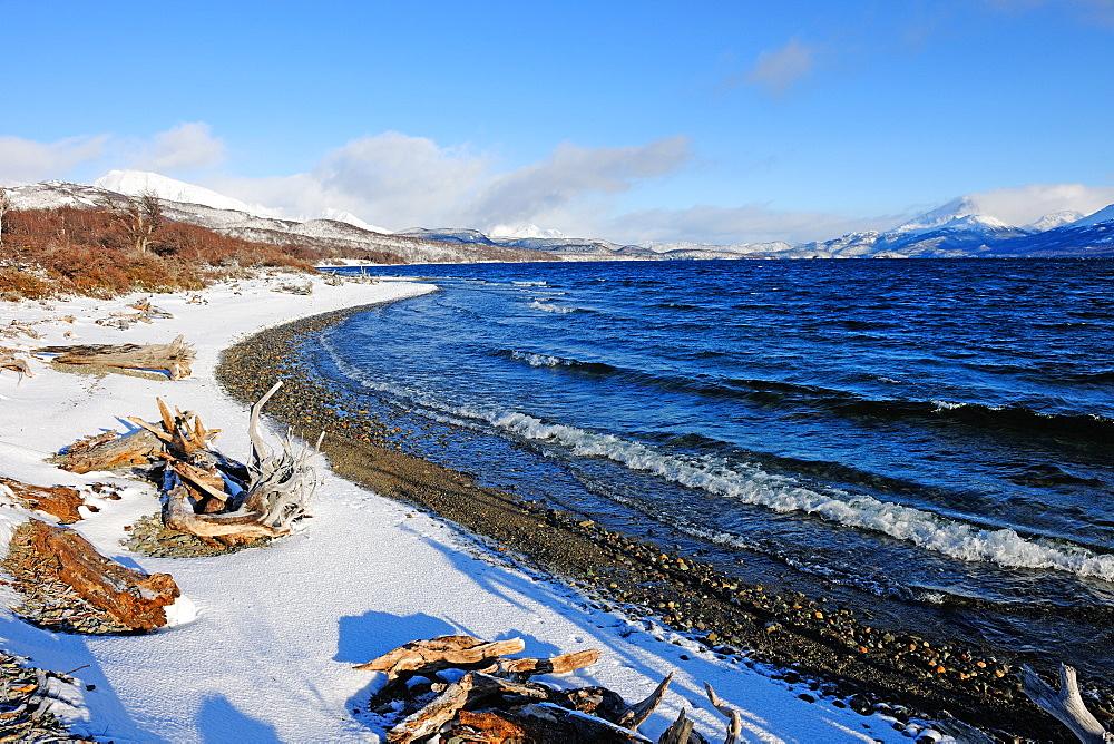 Silver Lake, Patagonia, Argentina, South America - 1162-201