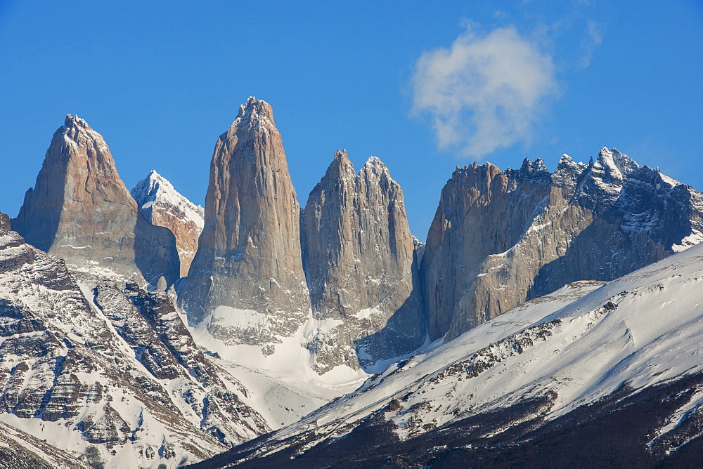 Torres del Paine National Park, Patagonia, Chile, South America - 1162-211