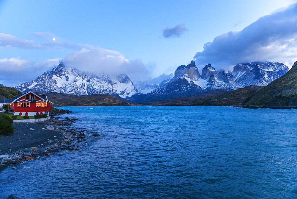 Pehoe Lake, Torres del Paine National Park, Patagonia, Chile, South America - 1162-215
