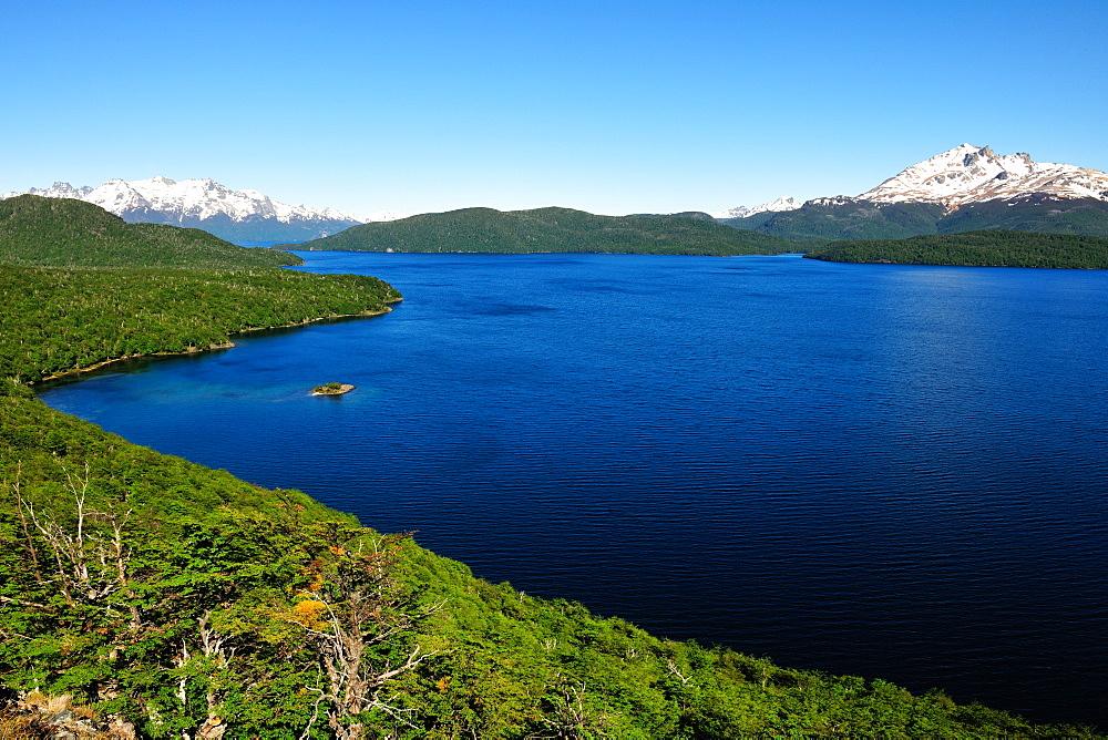 Silver Lake, Patagonia, Argentina, South America - 1162-222