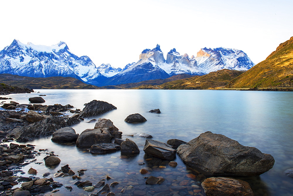 Horns of Paine, Torres del Paine National Park, Patagonia, Chile, South America - 1162-276