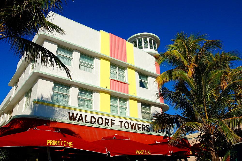 Waldorf Towers Hotel, South Beach, Miami, Florida, United States of America, North America
