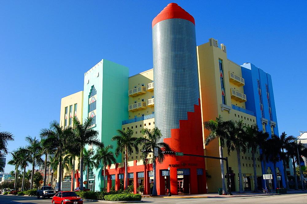 Miami Art Deco District, South Beach, Miami, Florida, United States of America, North America