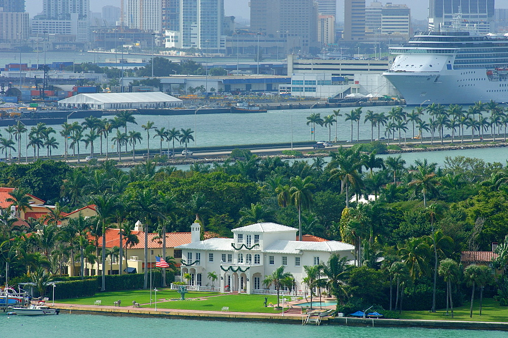 Scarface Mansion on Star Island, South Beach, Miami, Florida, United States of America, North America