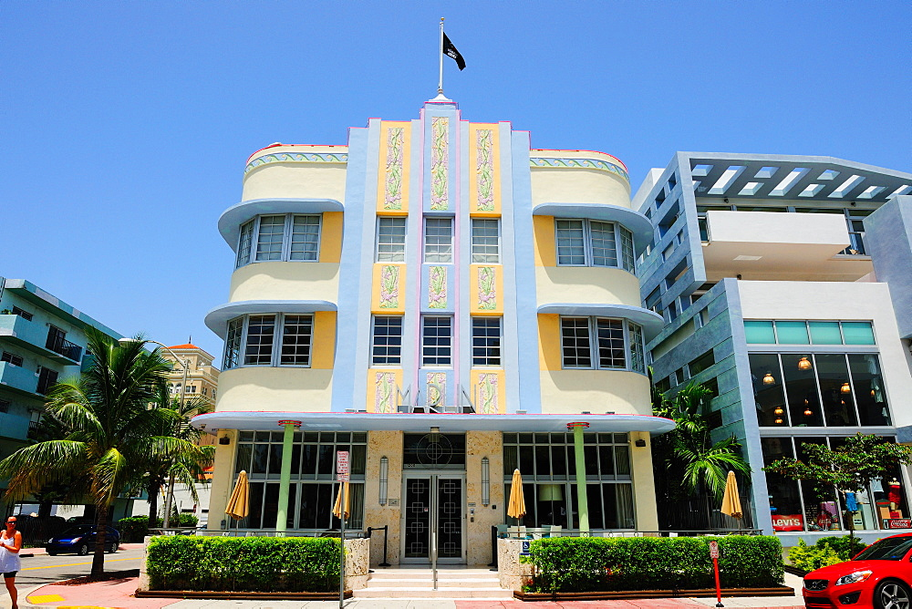 Marlin Hotel, South Beach, Miami, Florida, United States of America, North America