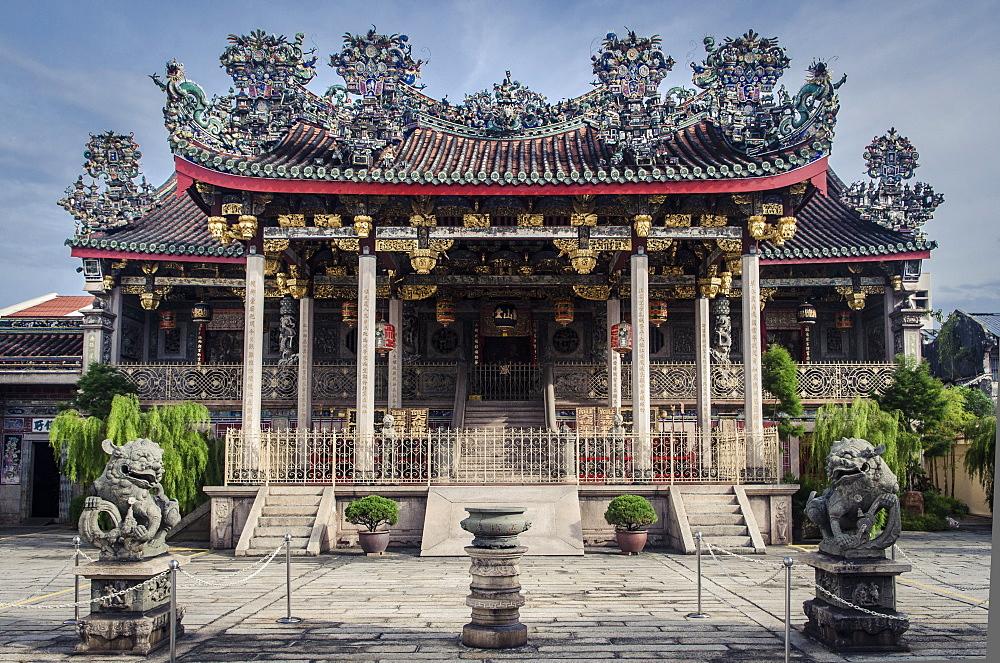 Khoo Kongsi, Chinatown, Penang, Malaysia, Southeast Asia, Asia