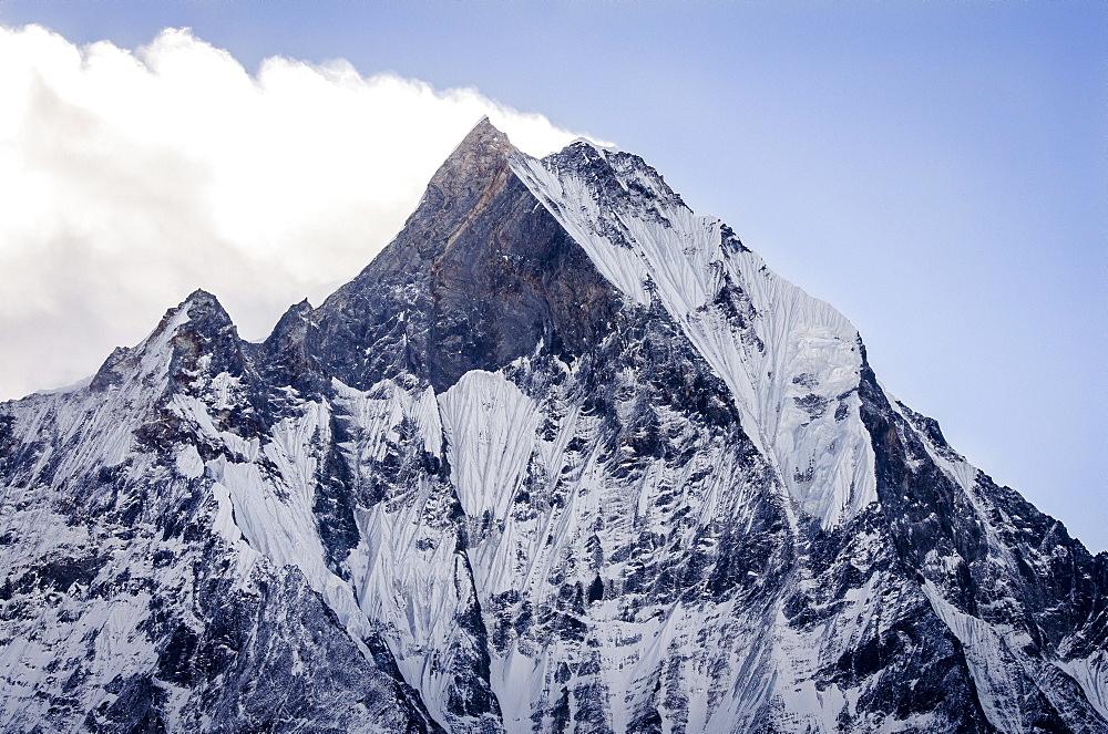 Machhapuchhare (Fish Tail), 6993m, Annapurna Conservation Area, Nepal, Himalayas, Asia  - 1163-78