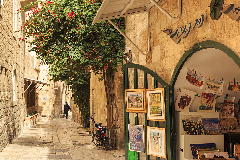 Street scene, Old City, Jerusalem, UNESCO World Heritage Site, Israel, Middle East