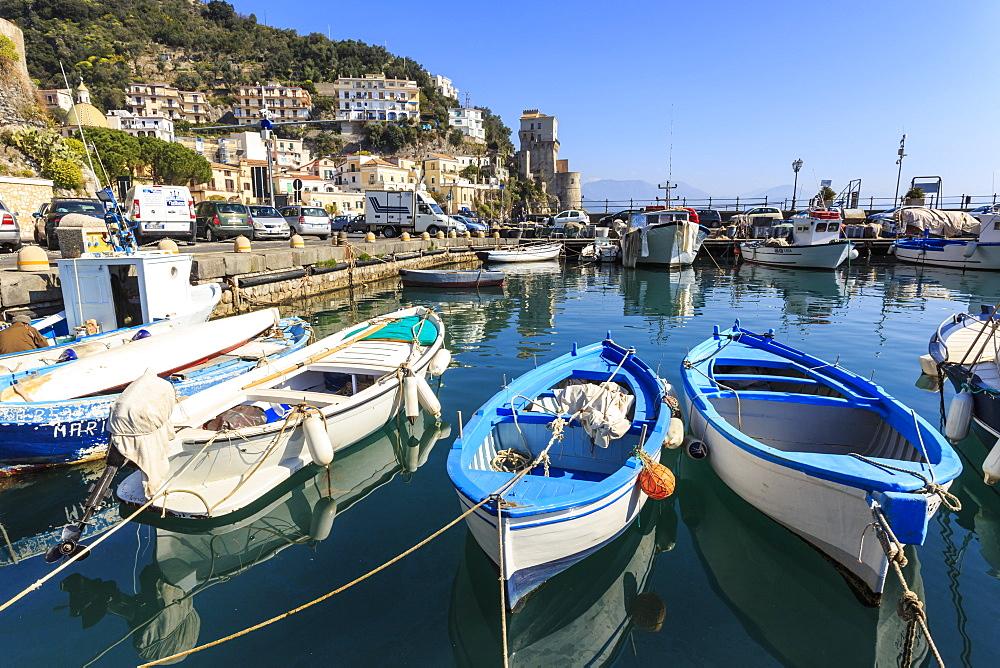 Cetara, picturesque and unpretentious fishing village, Amalfi Coast, UNESCO World Heritage Site, Campania, Italy - 1167-1350