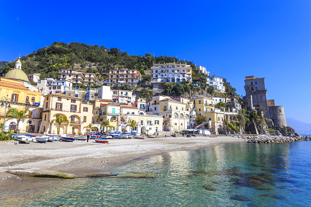 Cetara, picturesque and unpretentious fishing village, Amalfi Coast, UNESCO World Heritage Site, Campania, Italy - 1167-1351