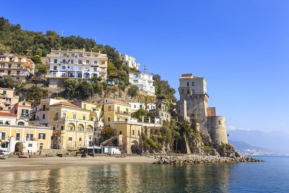 Cetara, picturesque and unpretentious fishing village, Amalfi Coast, UNESCO World Heritage Site, Campania, Italy - 1167-1352