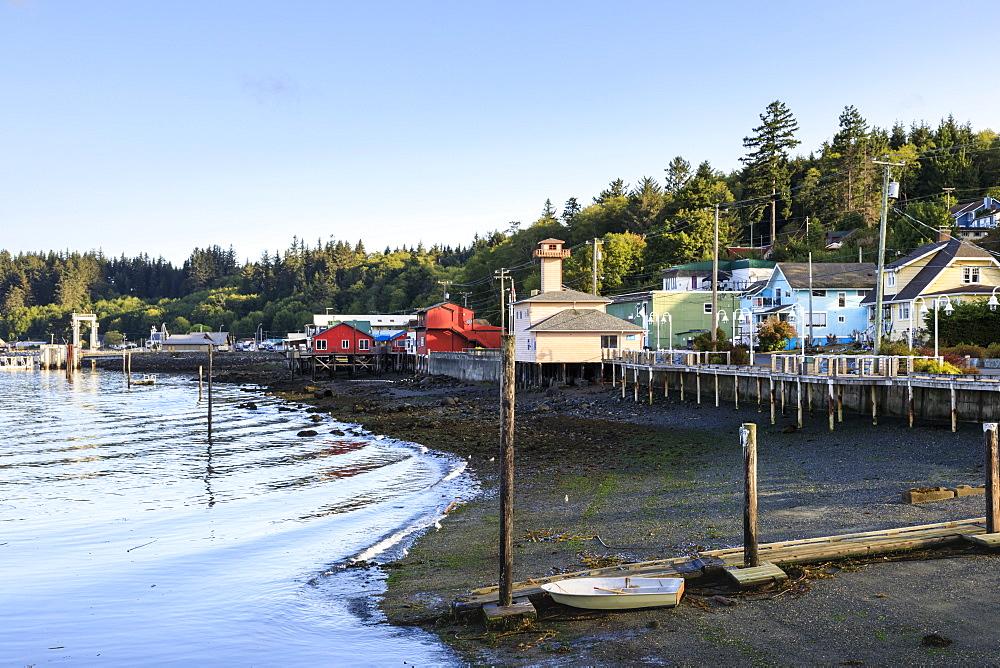 Alert Bay, Cormorant Island, Vancouver Island Inside Passage, British Columbia, Canada