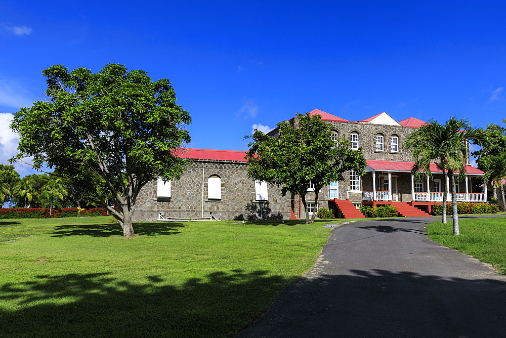 Government House, Bath Plain, Charlestown, Nevis, St. Kitts and Nevis, West Indies, Caribbean, Central America