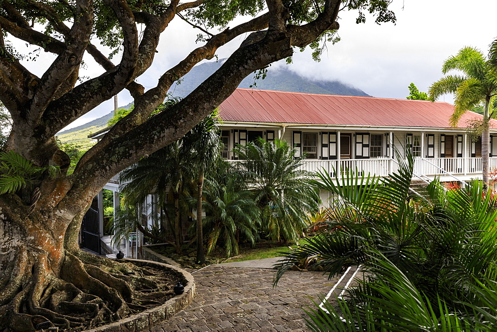Montpelier Plantation, restored sugar plantation where Nelson married, boutique hotel, Nevis, St. Kitts and Nevis, Caribbean