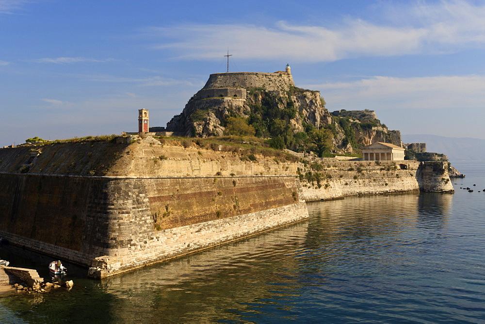 Old Fortress, Corfu Town, Corfu, Ionian Islands, Greek Islands, Greece, Europe