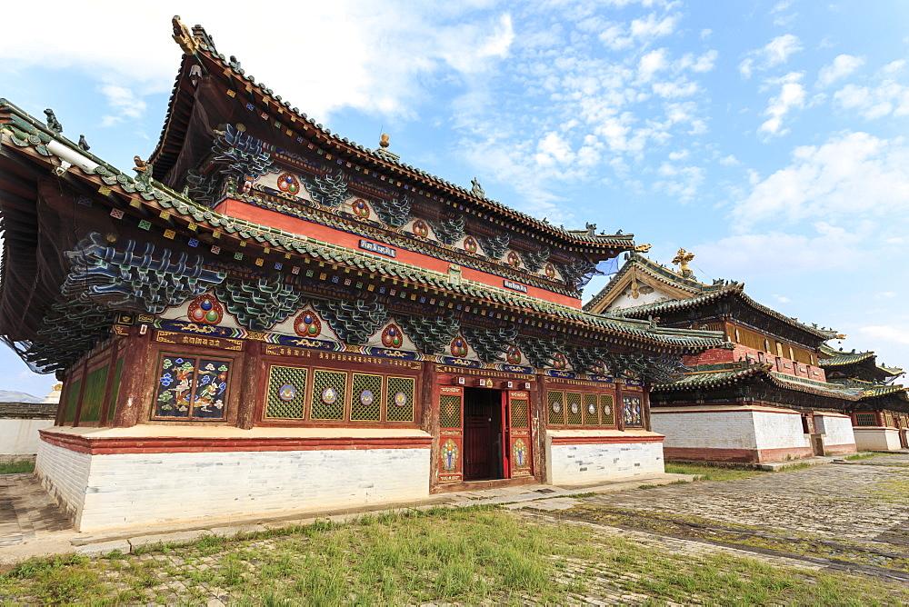 Baruun Zuu temple, Erdene Zuu Khiid, Buddhist Monastery, Kharkhorin (Karakorum), Central Mongolia, Central Asia, Asia