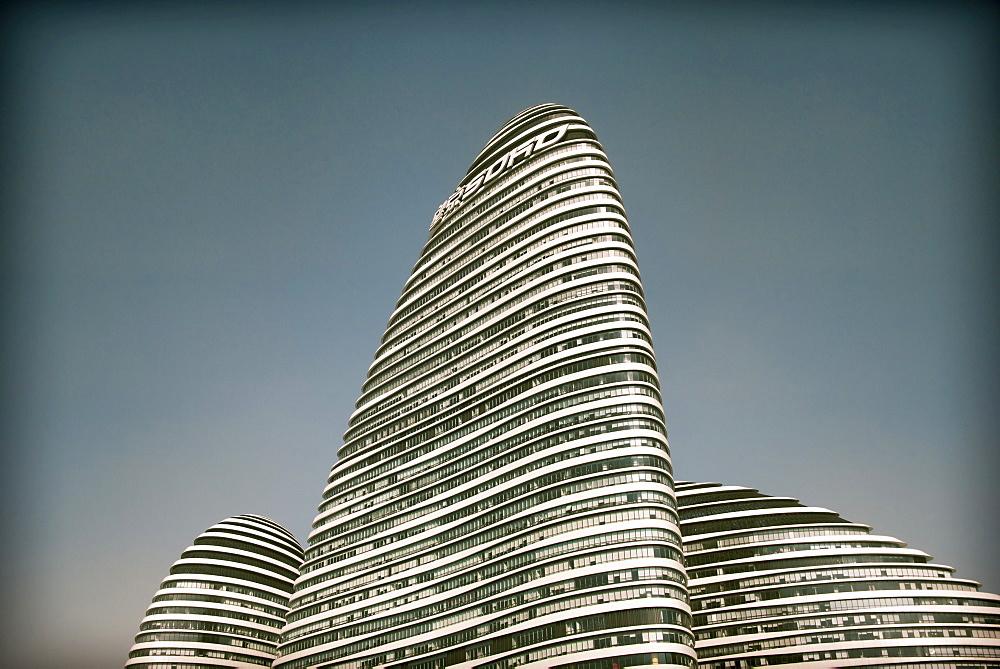 Wangjing SOHO Beijing, designed by Zaha Hadid, Beijing, China, Asia - 1171-250