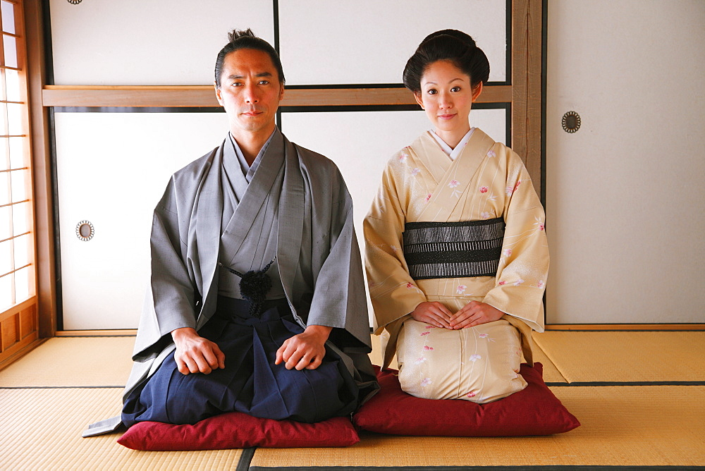 Samurai Couple