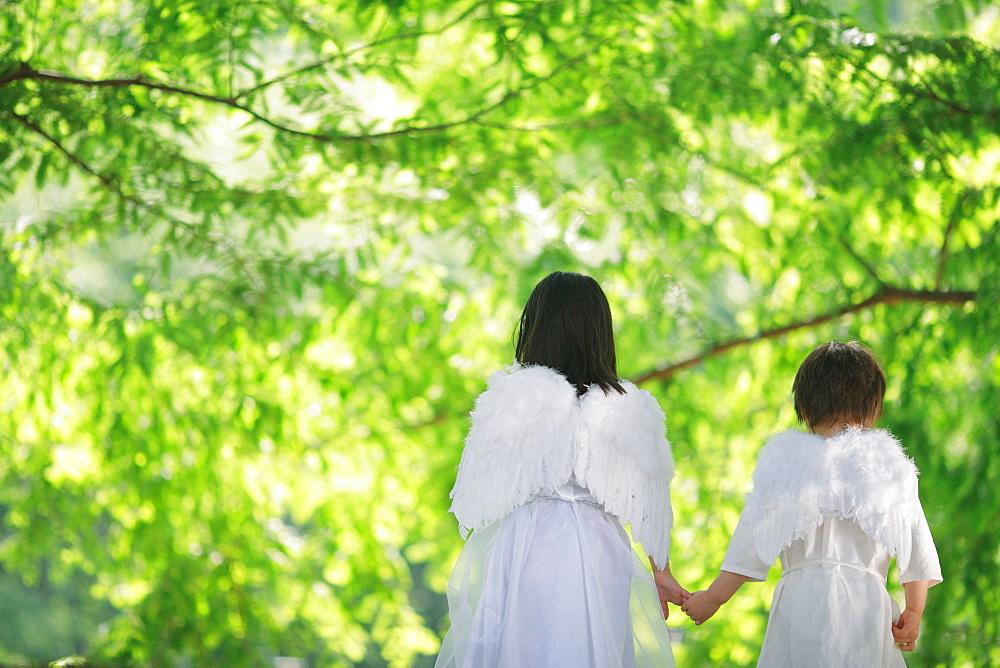 Children Dressed as Angels