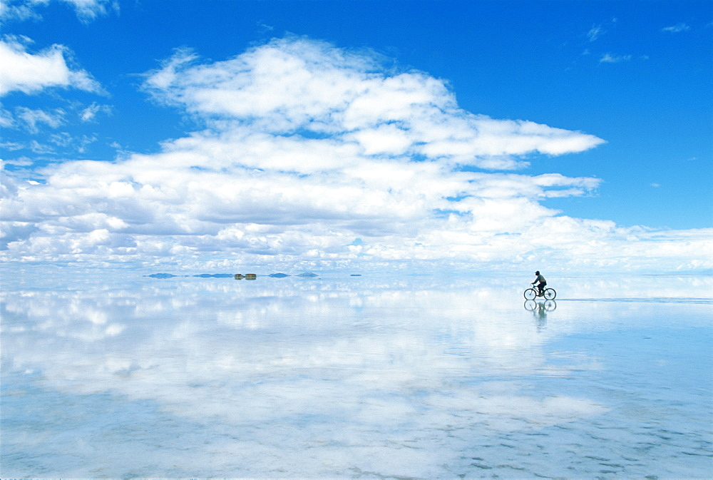 Man On A Bike, Bolivia