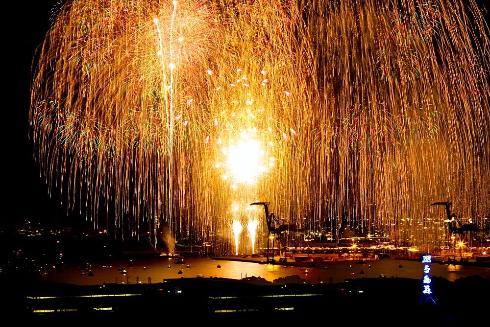 Fireworks, Wakayama, Japan