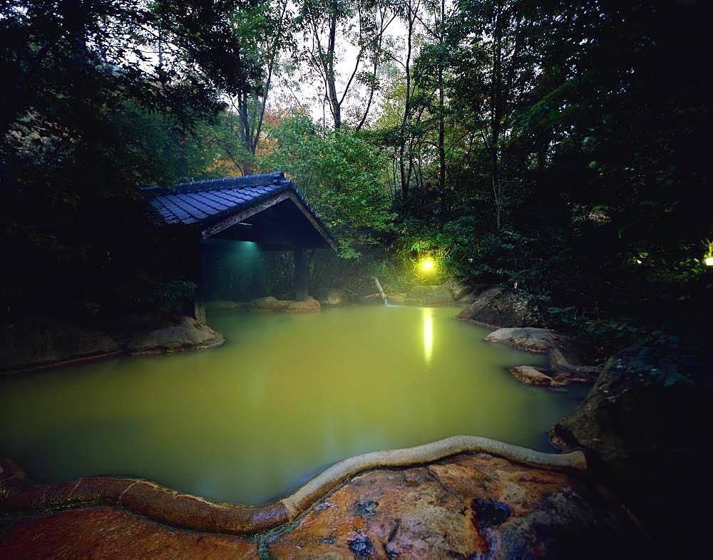 Ukenokuchi Onsen, Oita, Japan