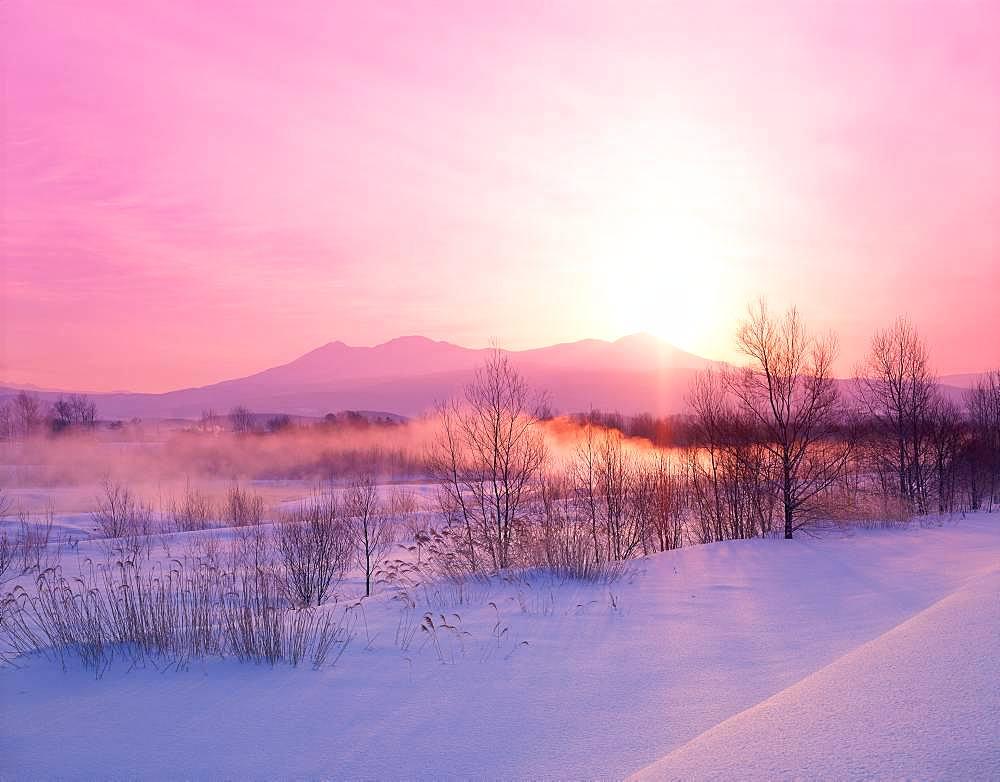 Mt.Asahi, Hokkaido, Japan