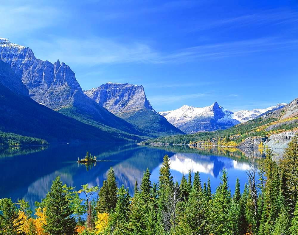 St.Mary LakemGlacier National Park, America