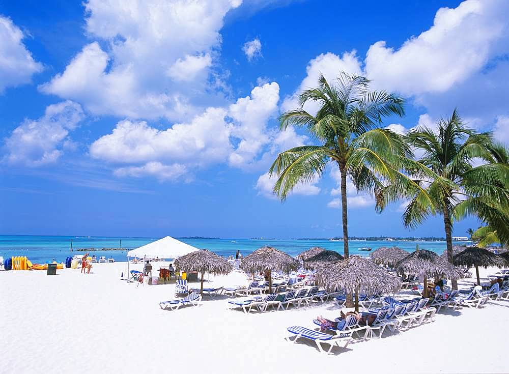 Cable Beach, Nassau, Bahama