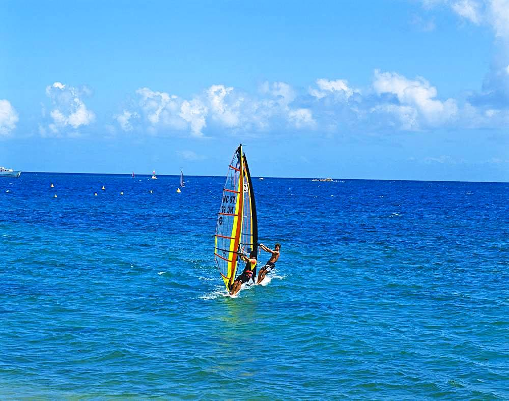 Windsurfing, New Caledonia