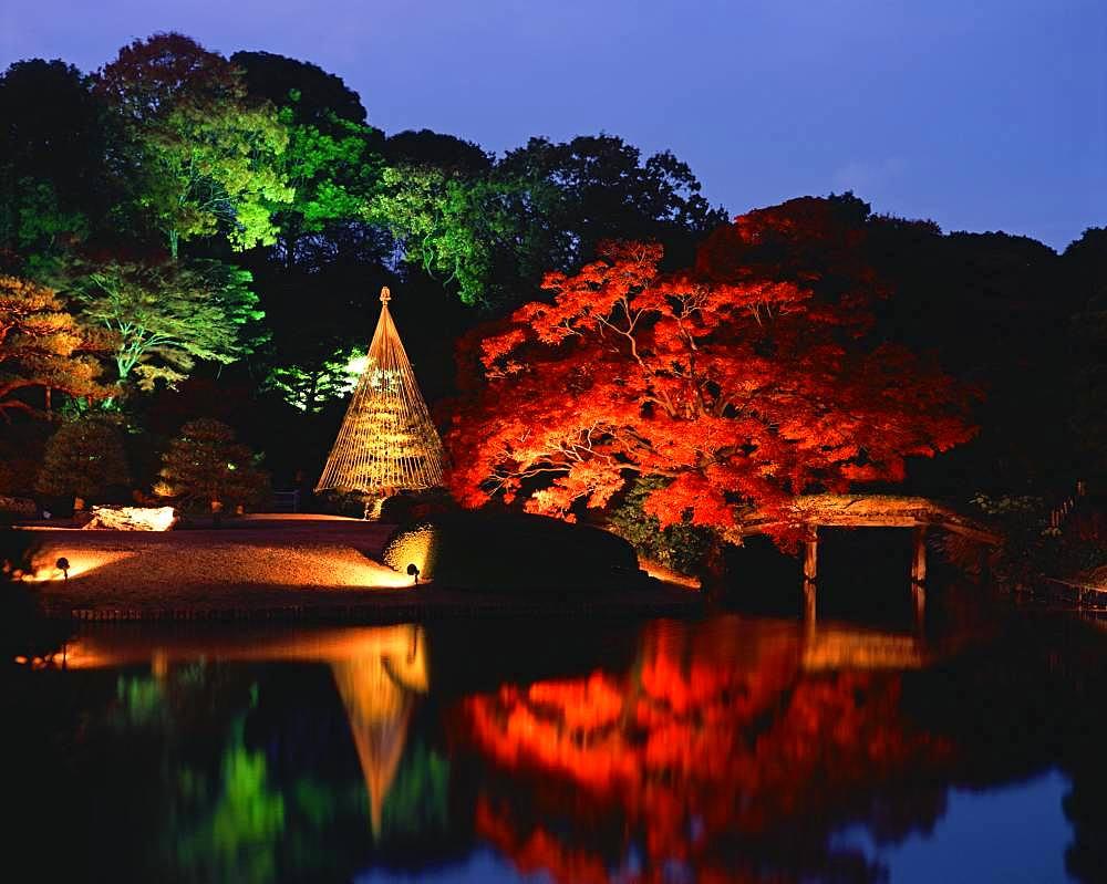Rikugien Garden, Tokyo, Japan