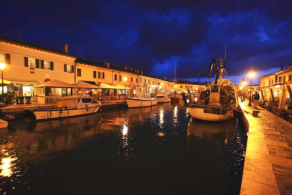Cesenatico Harbor, Italy