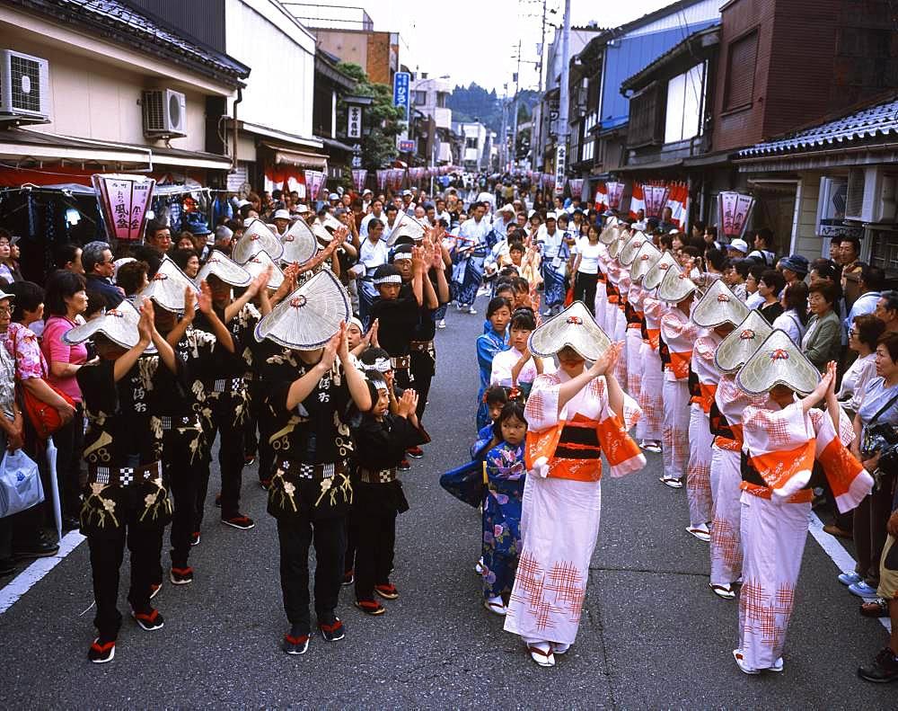 Owarakazenobon, Toyama, Japan