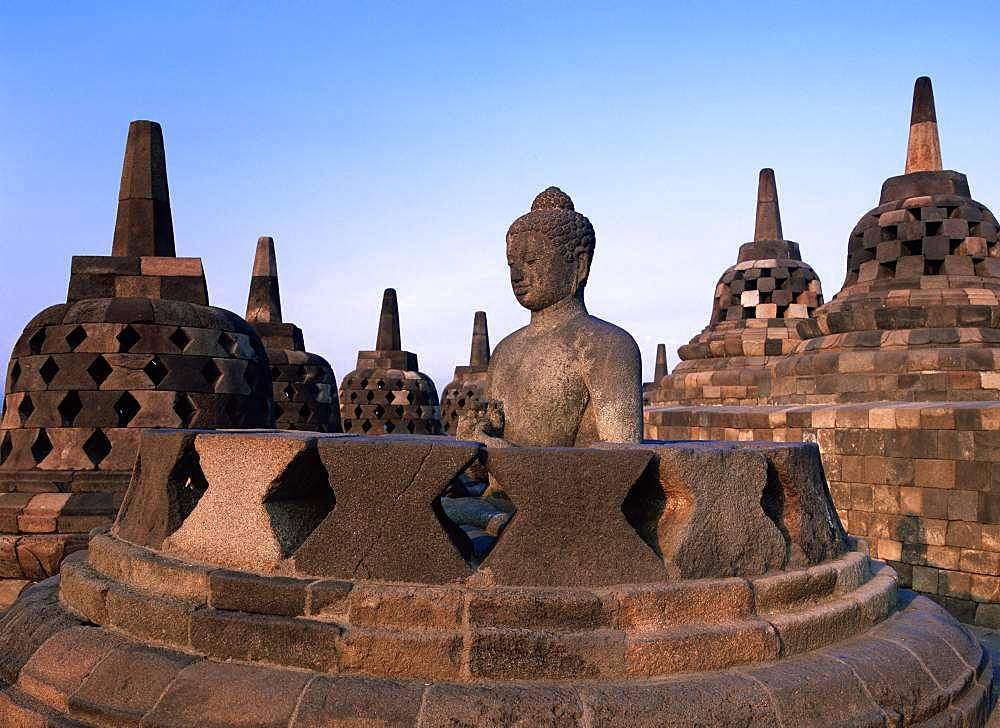 Borobudor Temple (Sunset)