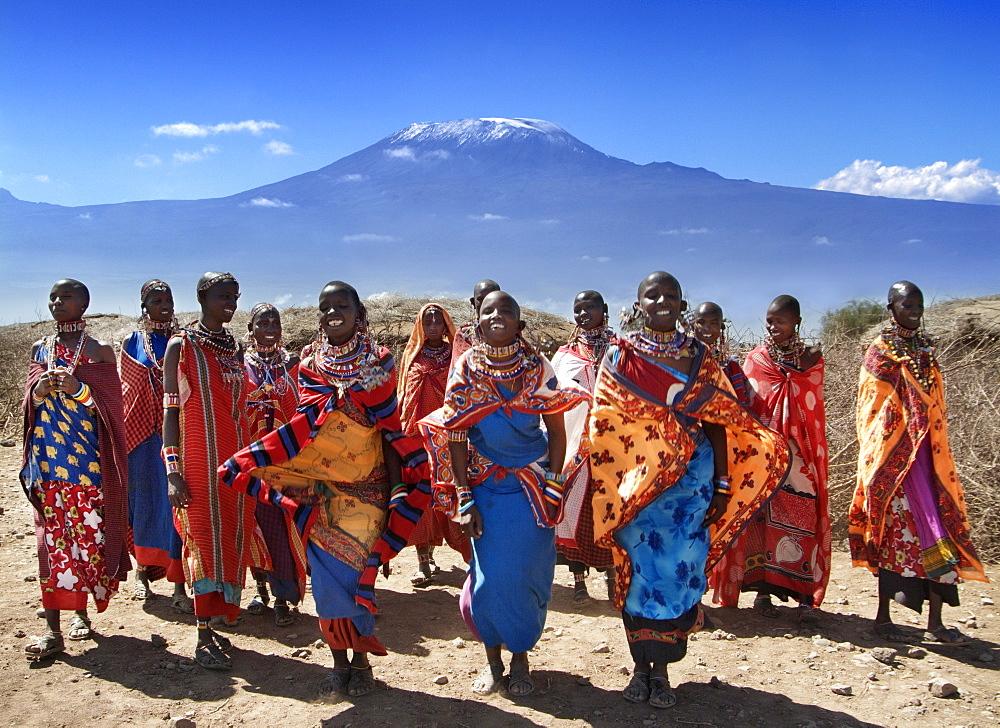 Kilimanjaro and Masai Tribe