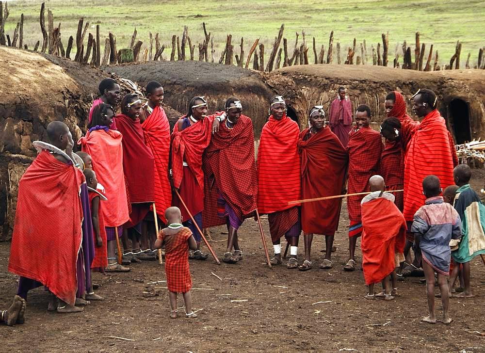 Masai Village in Ngorongoro