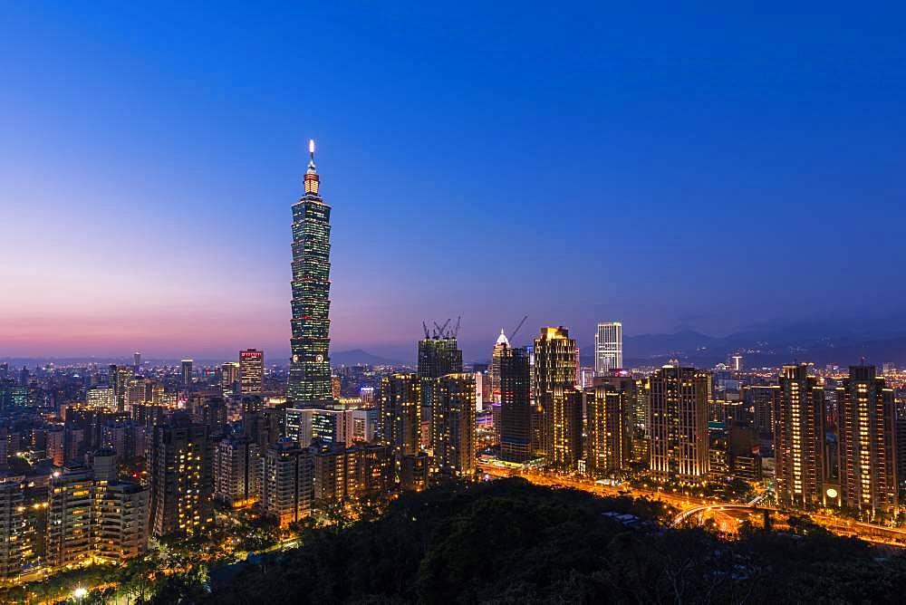 Night in Taipei, Taiwan