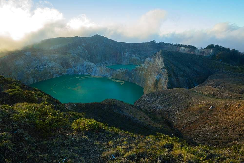 Kelimutu crater, Indonesia