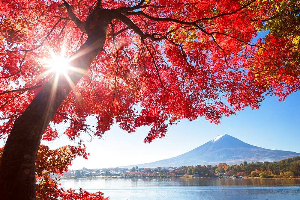 Mount Fuji from Yamanashi Prefecture, Japan