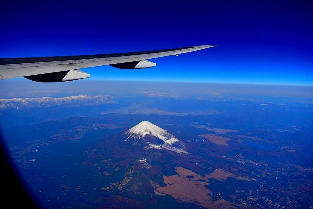 Beautiful view of Mount Fuji